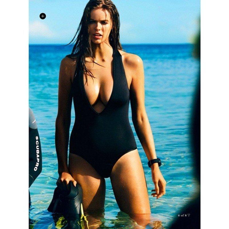 Robyn Lawley, australiana 25enne anche sulla copertina di Vogue ...: http://www.thesocialpost.it/10-donne-curvy-belle-mondo/