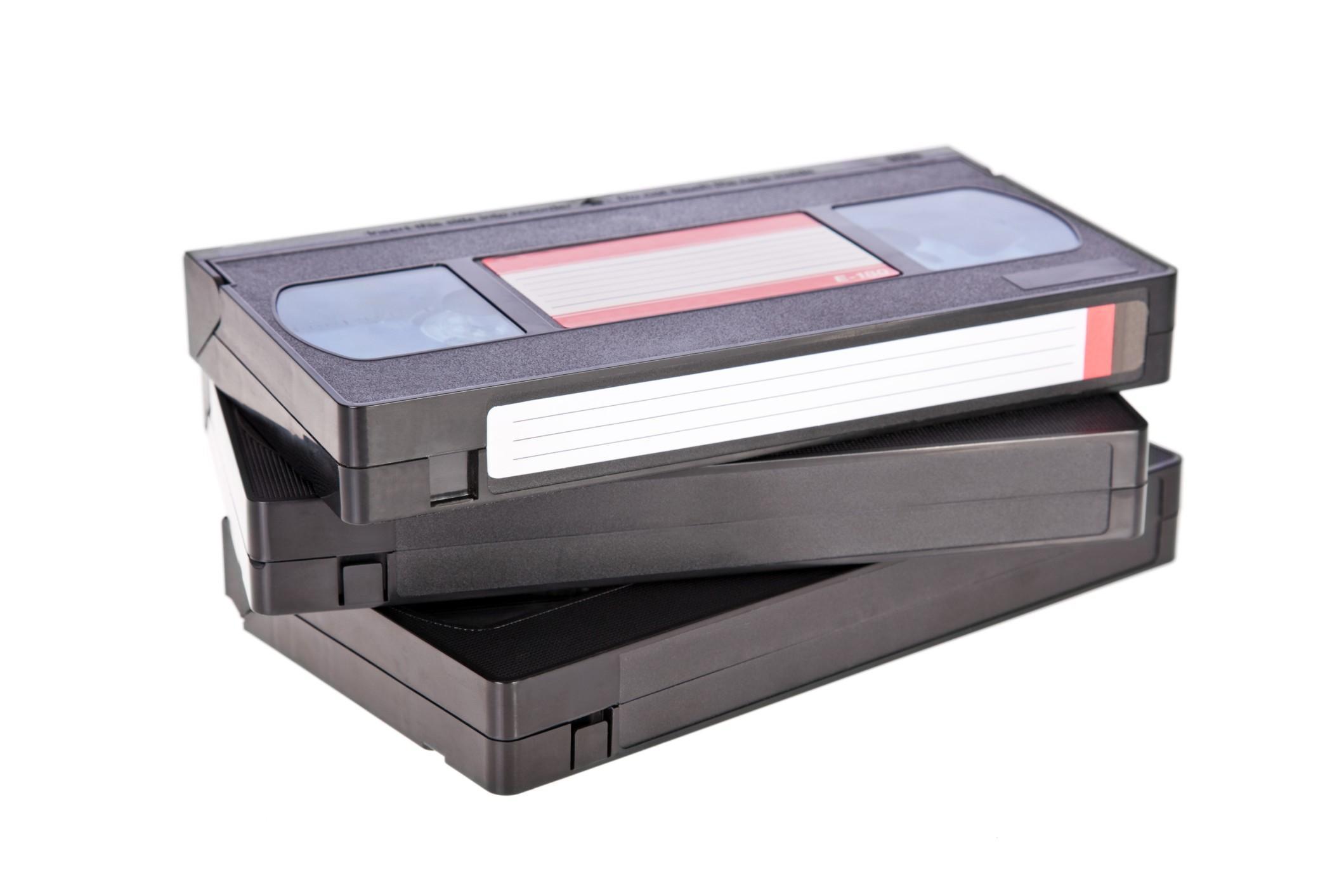 Come smaltire le videocassette vhs