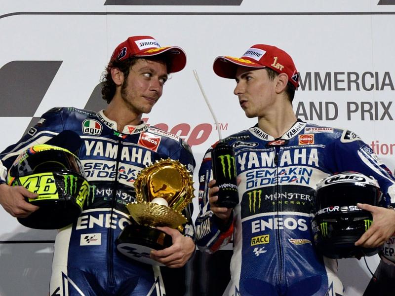 Valentino Rossi e Lorenzo: chi vincerà?