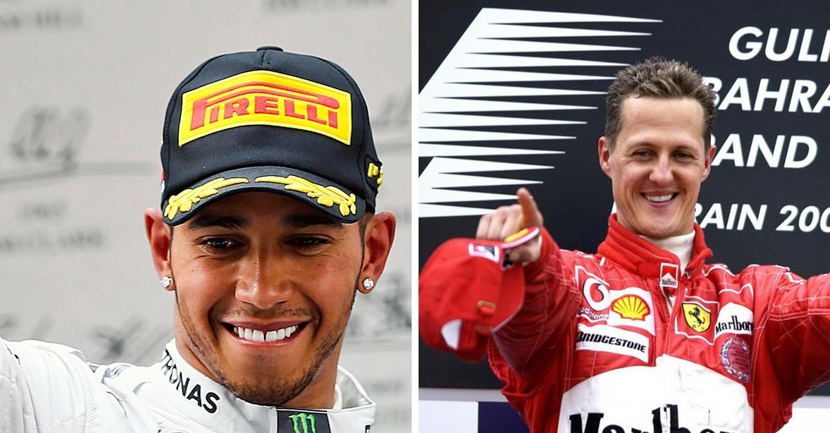 Lewis Hamilton molto duro contro Michael Schumacher