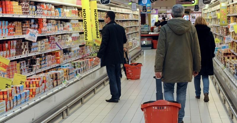 Sciopero dei dipendenti dei supermercati