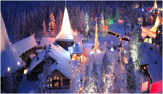 Babbo Natale Dove.Finlandia La Cittadina Dove Vive Babbo Natale