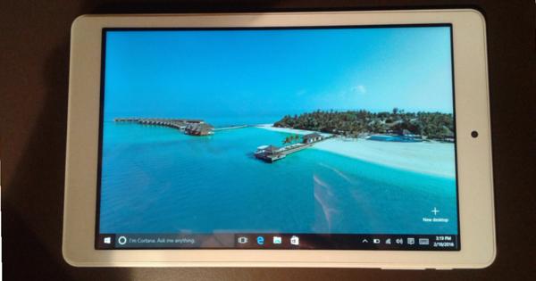 Windows 10 sul Teclast X80 Plus