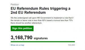 petizione brexit
