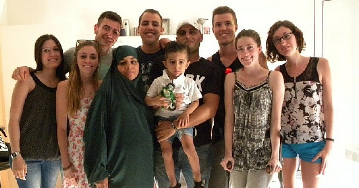 famiglia musulmana nizza