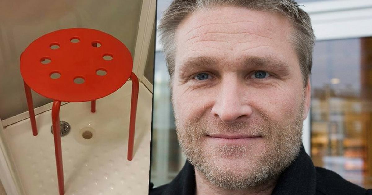 Ikea uomo rimane incastrato col testicolo in una sedia coi buchi