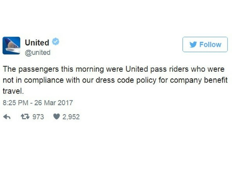 tweet united airlines