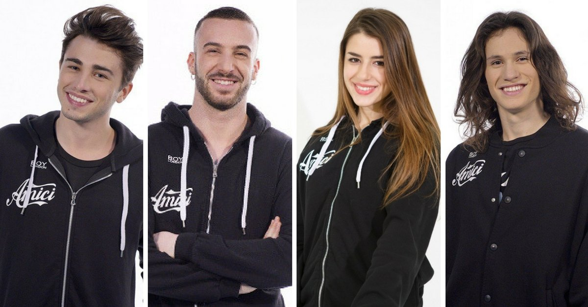 amici 2017 finalisti