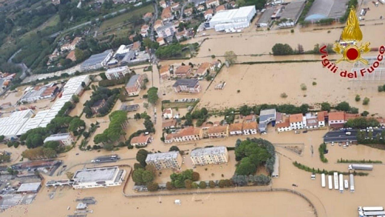 livorno alluvione