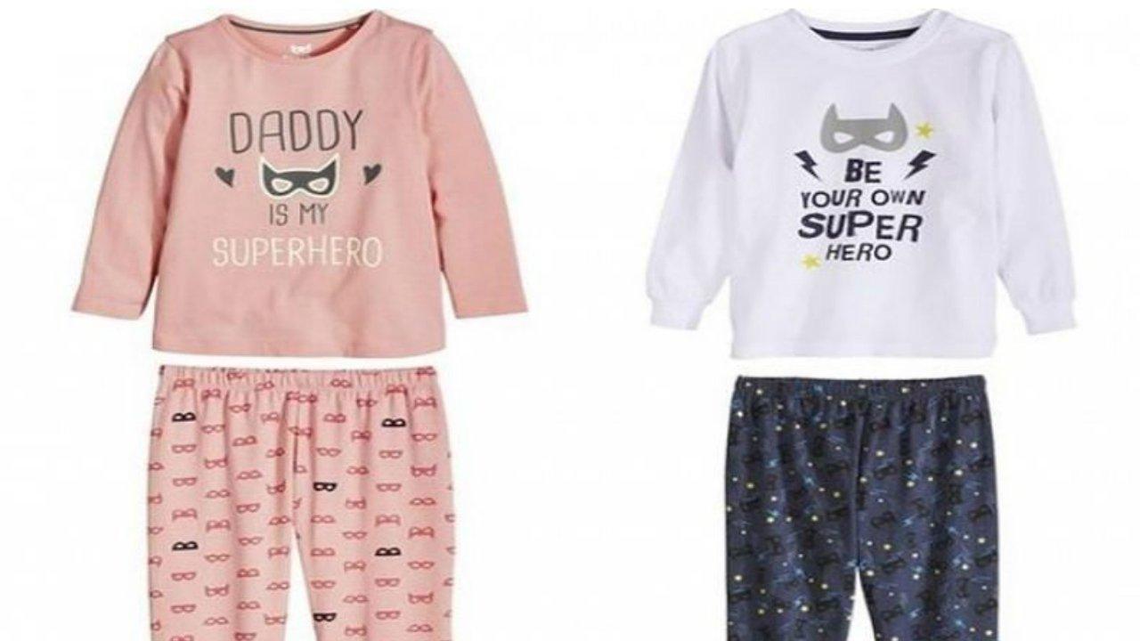 design di qualità 11eb3 87b27 Lidl: è bufera per la scritta sui pigiami per bambini ...