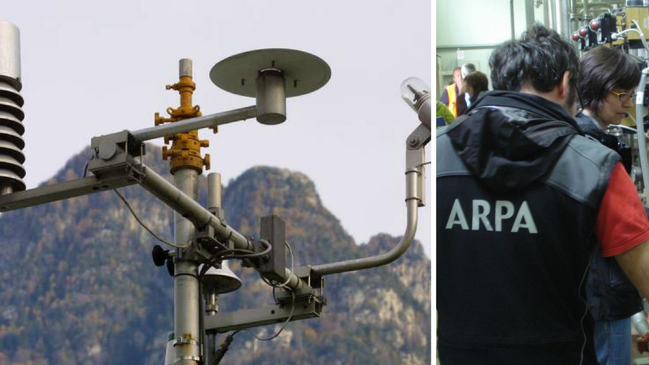 Veneto: rilevate radiazioni nell'aria