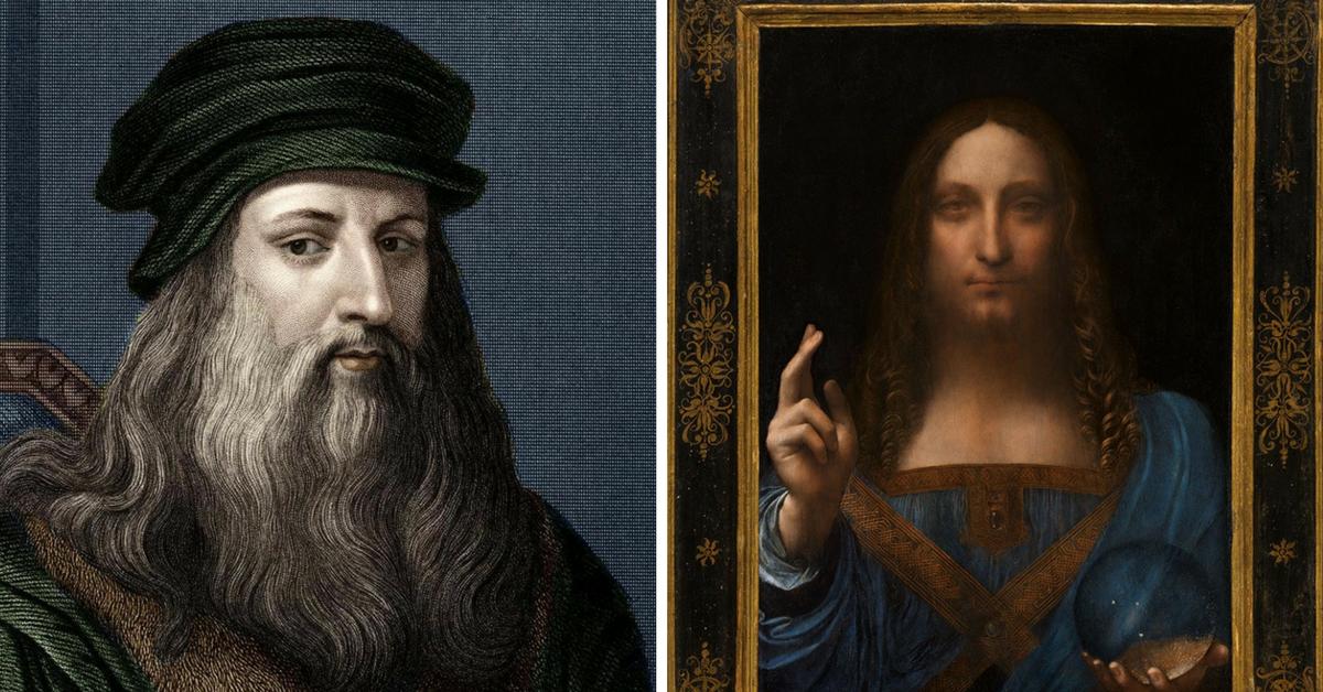 All'asta il Salvator Mundi di Leonardo da Vinci: vendita record di 450 milioni
