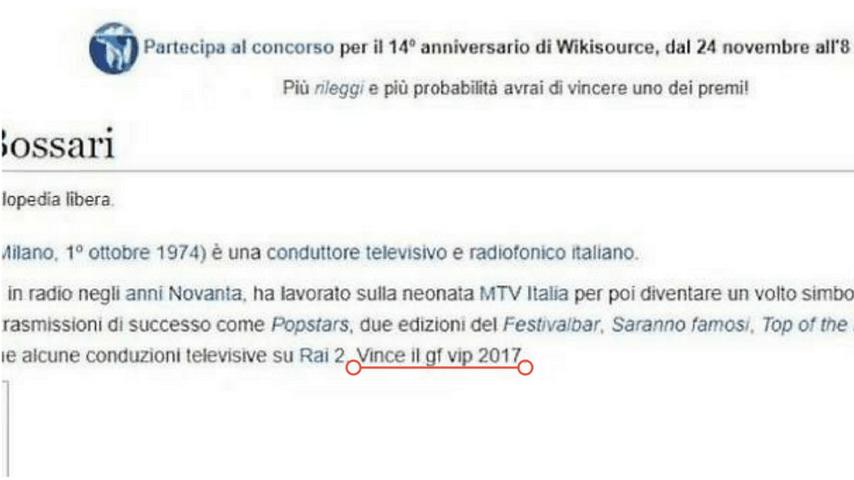 Anniversario Di Matrimonio Wikipedia.Daniele Bossari Per Wikipedia E Il Vincitore Del Grande