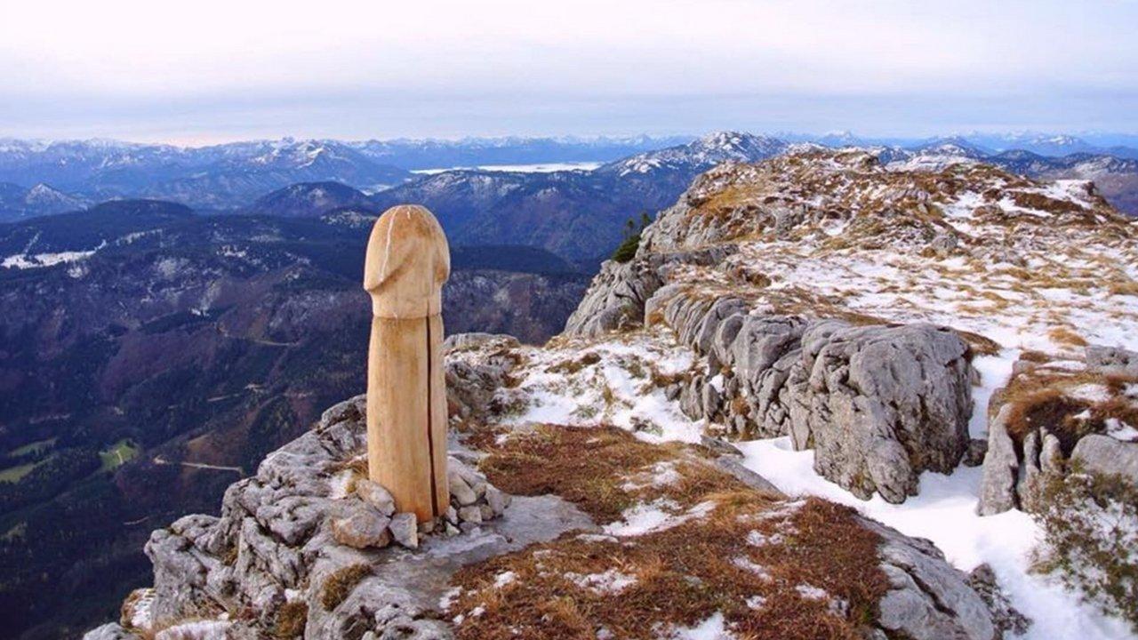 scultura Ötscher