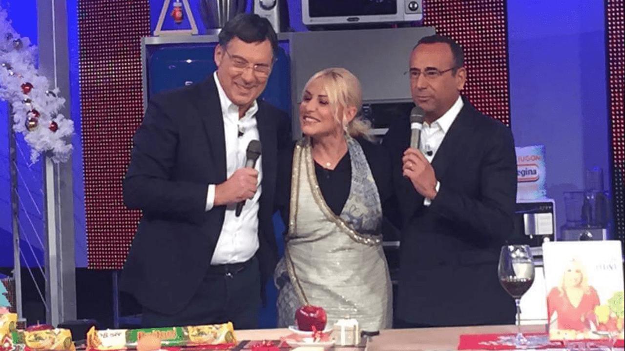 Fabrizio Frizzi torna a sorpresa a La prova del cuoco con Conti e la Clerici