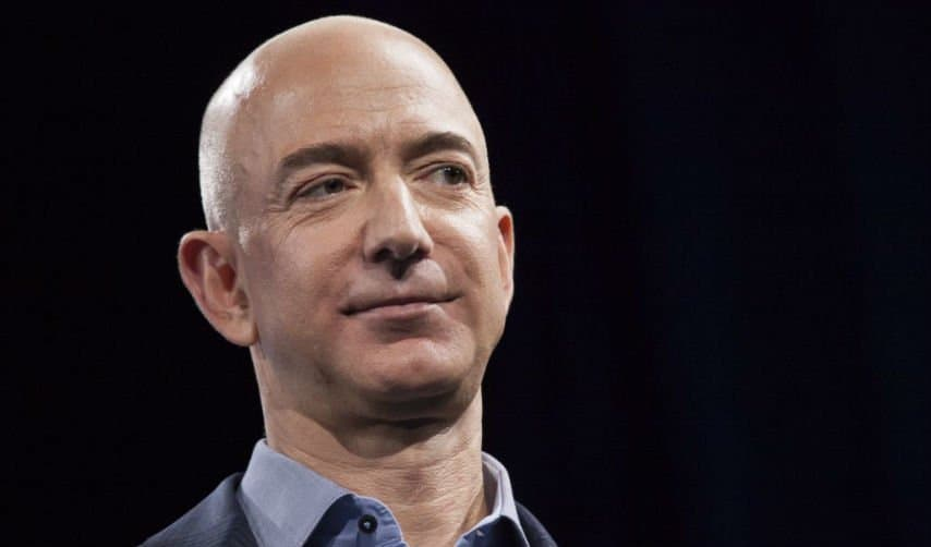 Jeff Bezos. David Ryder/Getty Images