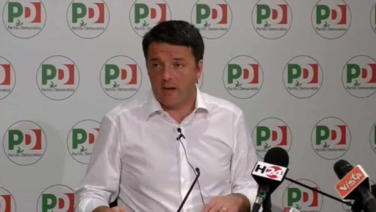 Renzi presenta le liste e spacca il Pd