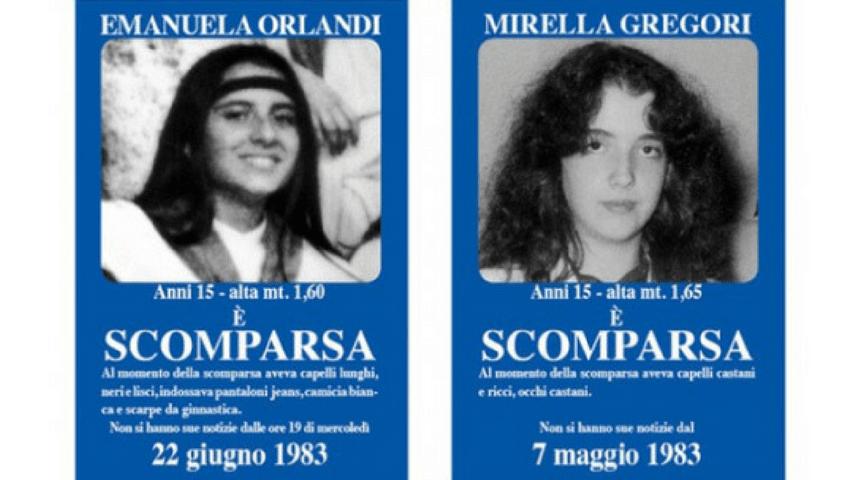 scomparsa orlandi gregori