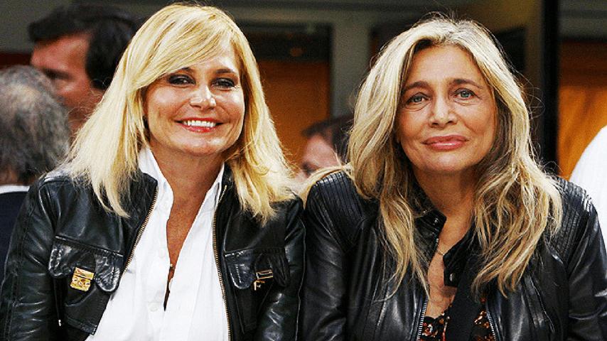 """Mara Venier e la """"nuora"""" Simona Ventura ai tempi della loro amicizia"""