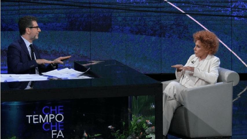 Ornella Vanoni a Che Tempo Che Fa