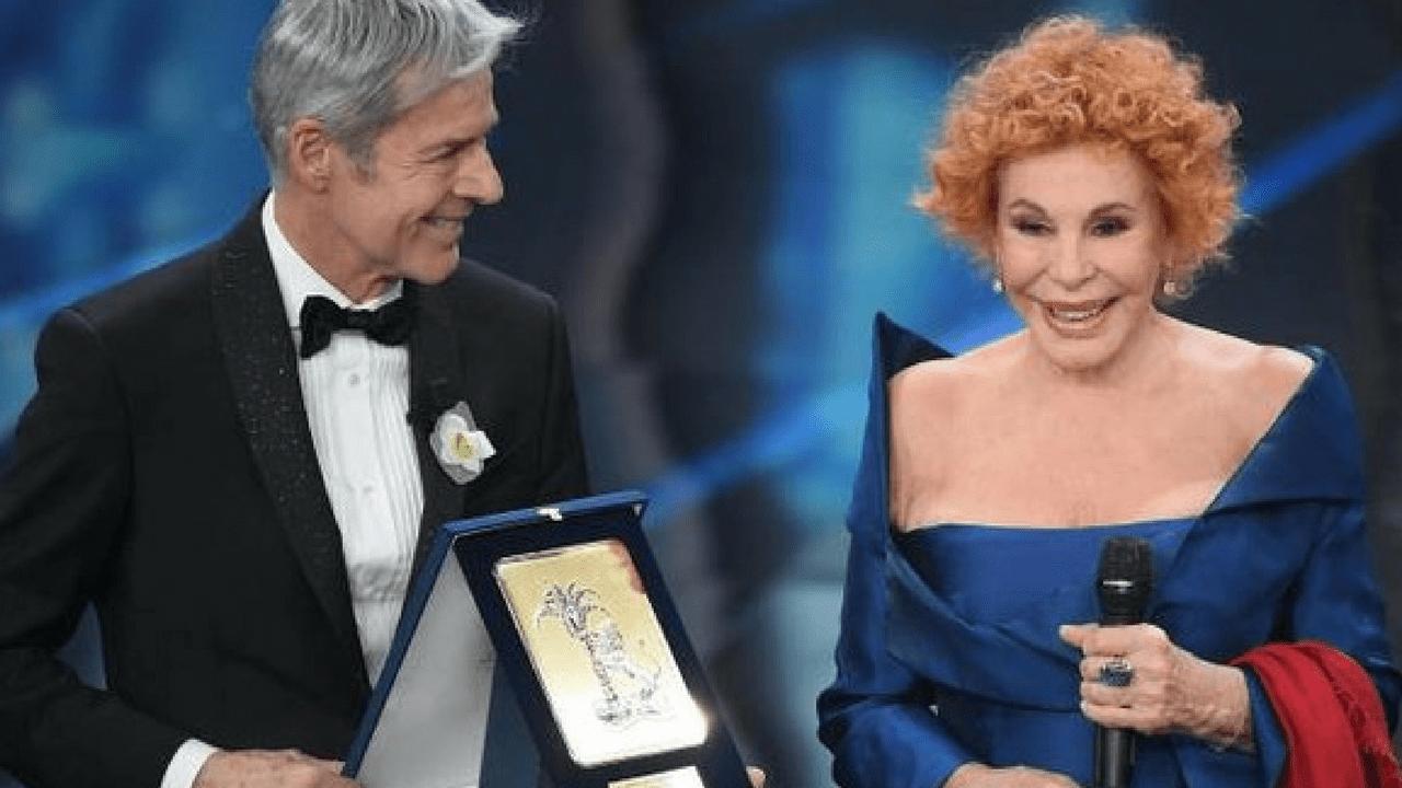 Ornella Vanoni premiata al Festival