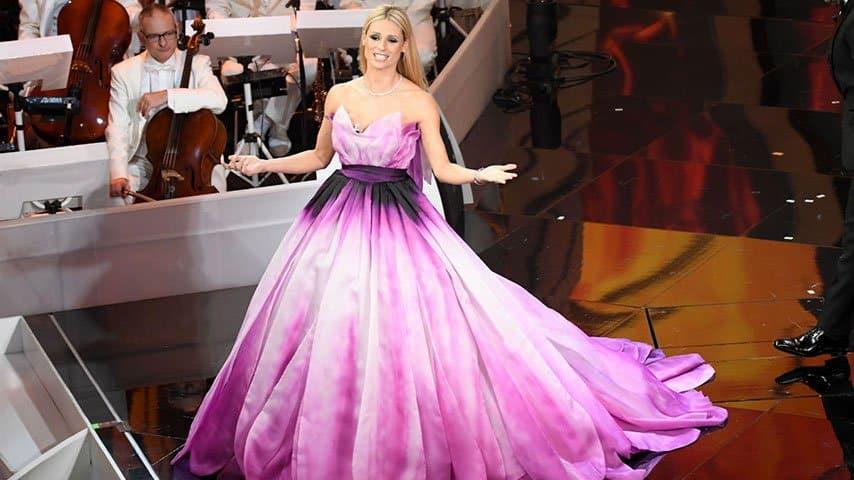 Michelle la stella del Festival