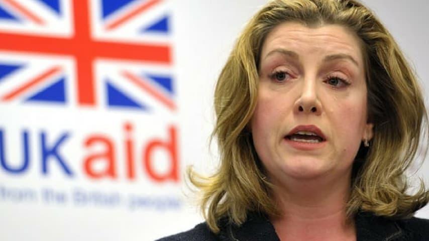 Il ministro inglese per la Cooperazione internazionale Penny Mordaunt