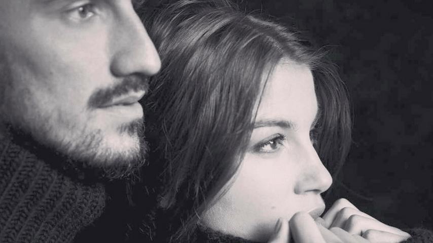Davide Astori e Francesca Fioretti