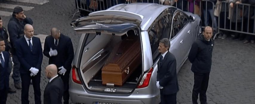 fabrizio frizzi funerale