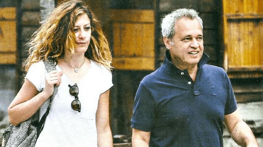Francesca Fagnani e Enrico Mentana