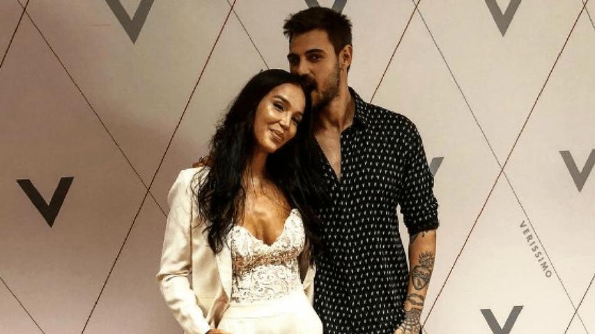Francesco Monte e Paola Di Benedetto a pochi giorni dall'uscita della modella dall'Isola