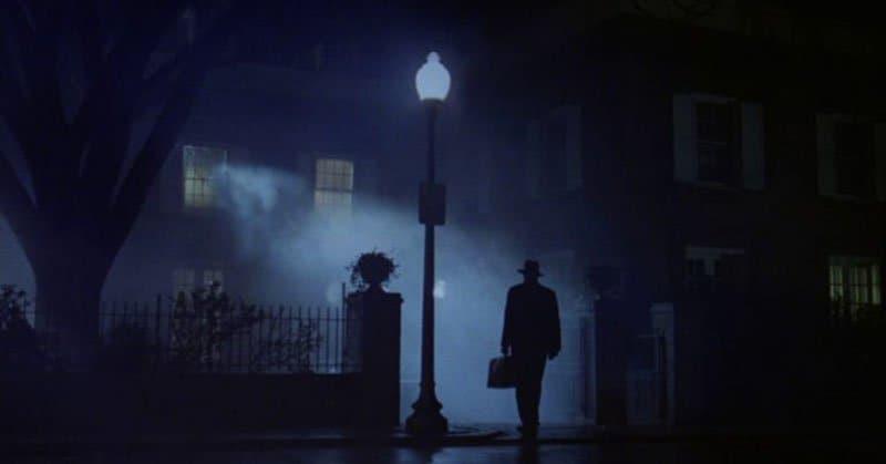 Scena tratta dal film L'Esorcista