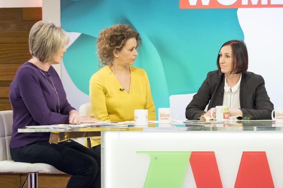 Heidi racconta la sua storia a Loose Women