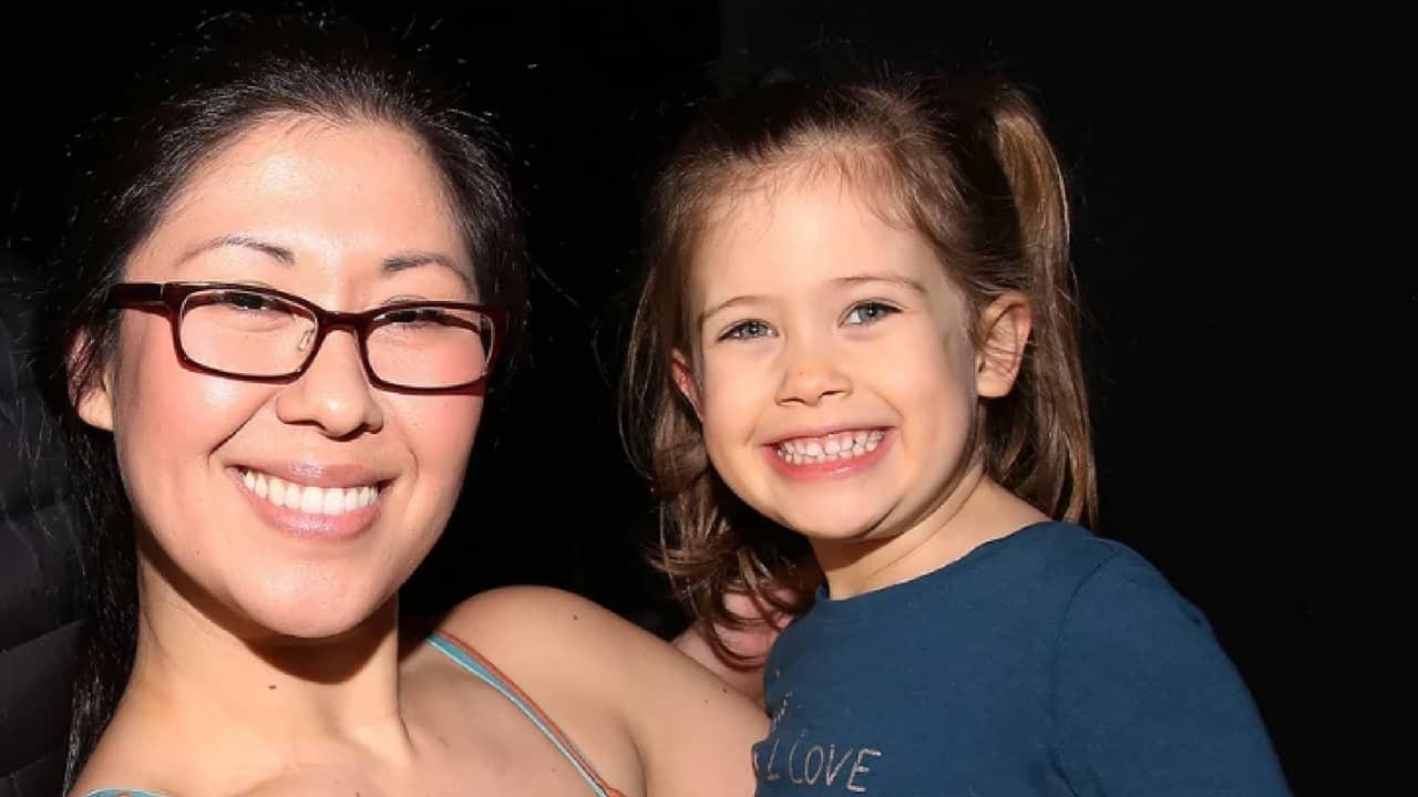 Ruthie Ann Miles e la figlia Abigail. Foto: Walter McBride/WireImage