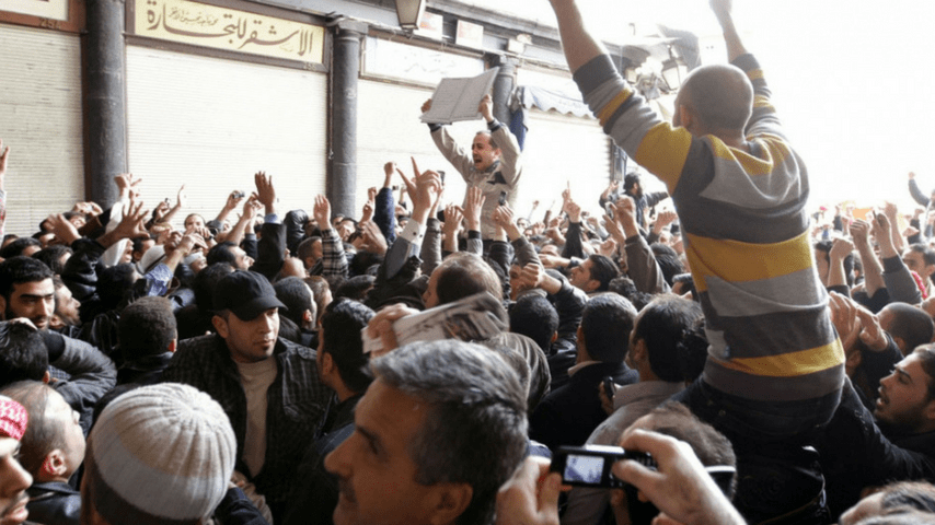 rivolta siria