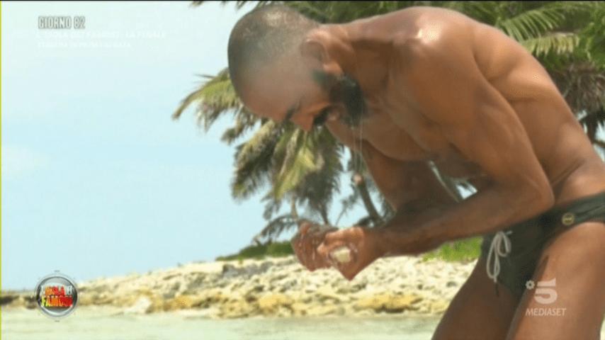 Amaurys Pérez all'Isola dei Famosi