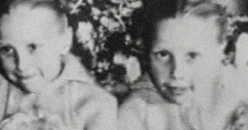 Jacqueline, 6 anni, e Joanna Pollock 11 anni, morte in un incidente nel 1957