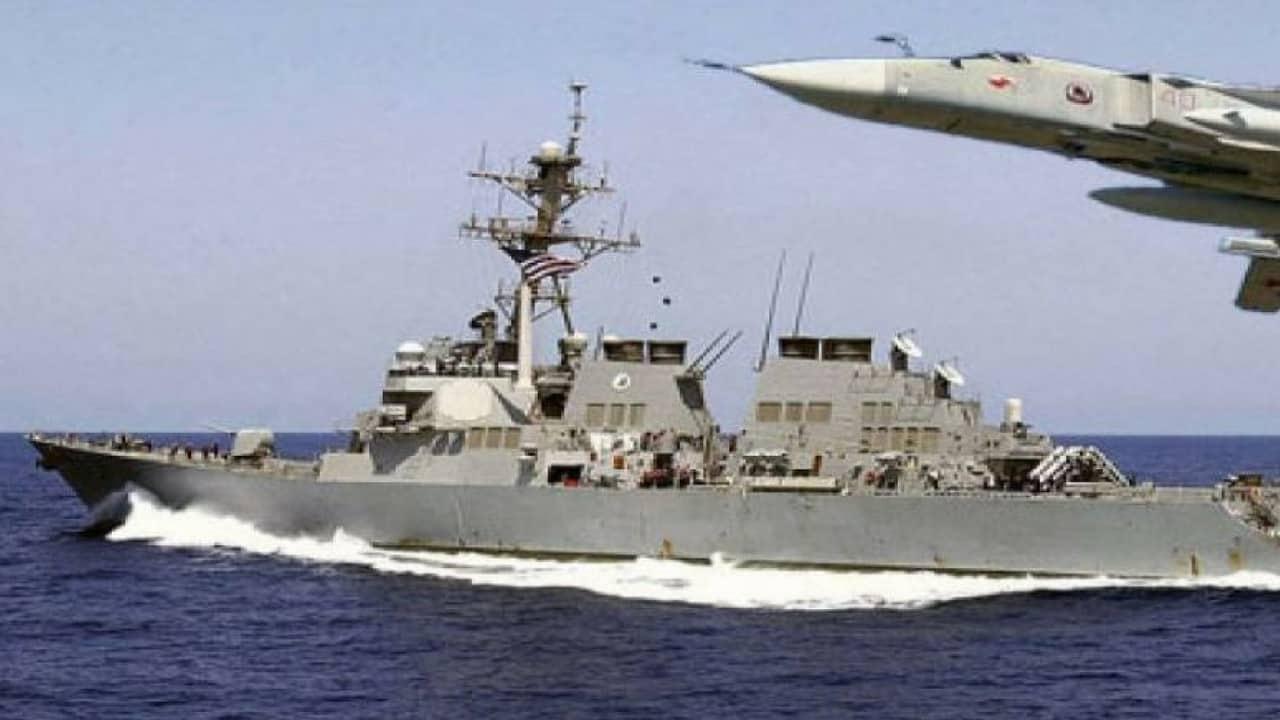 portaerei siria