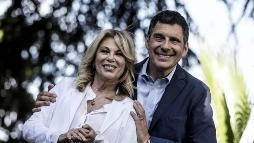 Rita Dalla Chiesa e Fabrizio Frizzi. Foto: Ansa