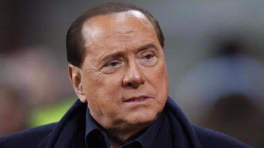 Silvio Berlusconi e Lele Mora
