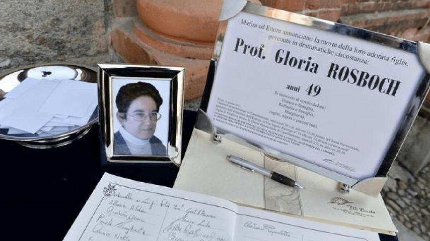 gloria rosboch funerale
