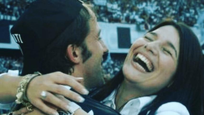 Alex Del Piero e Sonia Amoruso