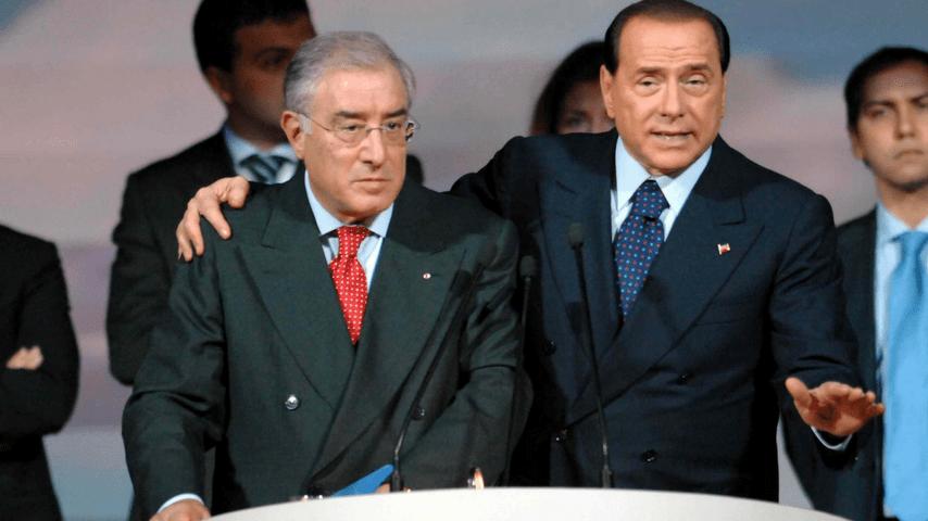 Dell'Utri e Silvio Berlusconi