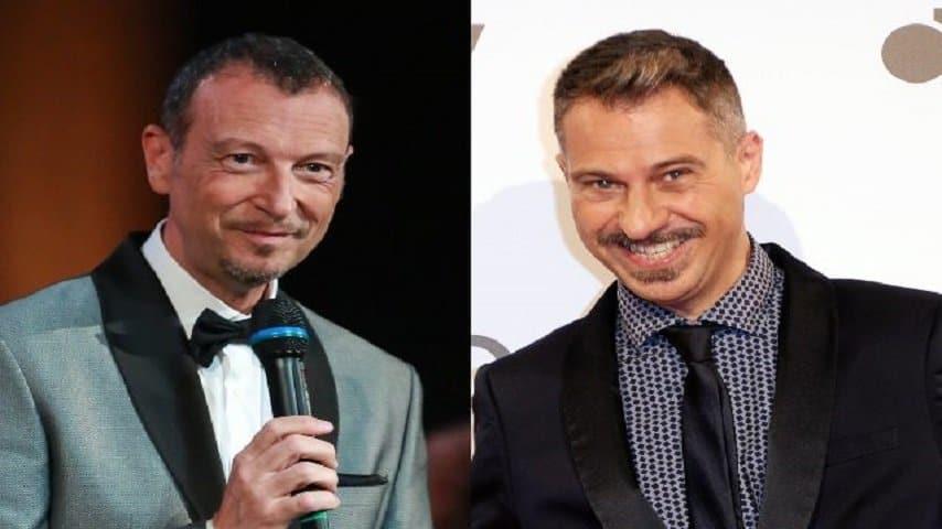 Amadeus e Gabriele Corsi