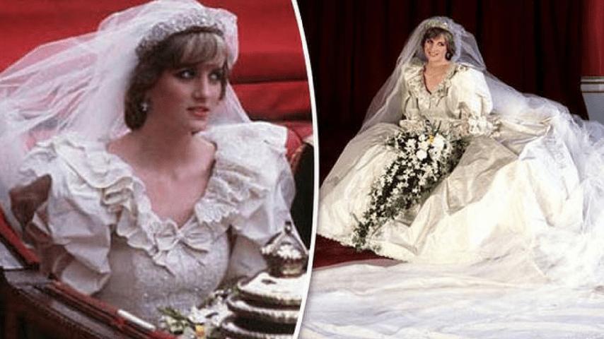 432bb8029ebb I segreti dell u0027abito da sposa di Lady Diana ...