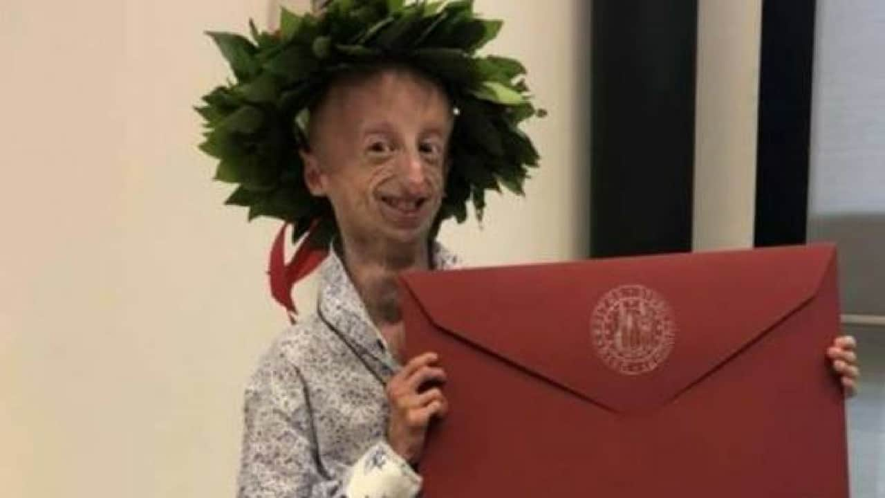 Sammy Basso laureato