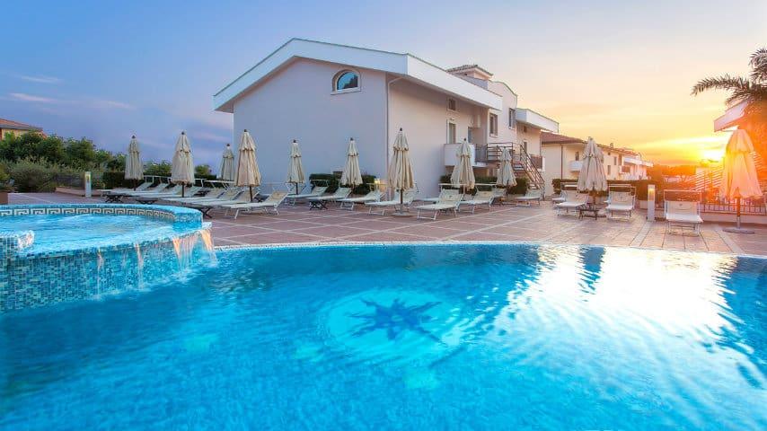piscina virgilio grand hotel