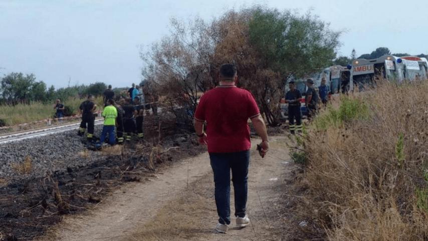 Bimbi travolti da un treno: la madre ha provato a salvare i bambini