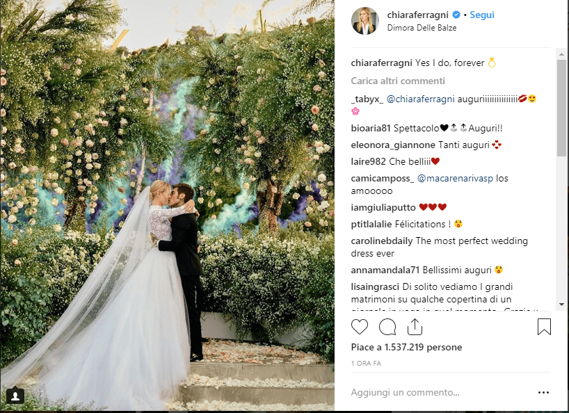 ferragni wedding 1