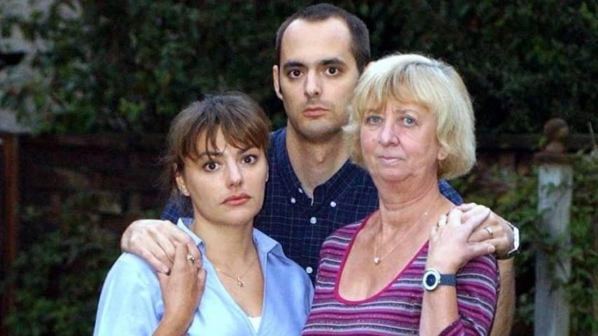 I figli Rachel e Jeremy con la seconda moglie di Gordon Park
